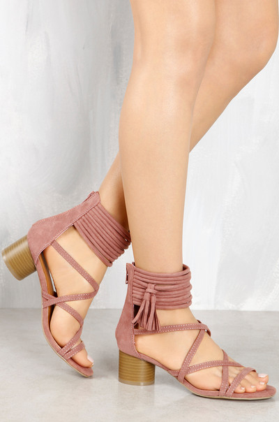 On The Fringe - Mauve