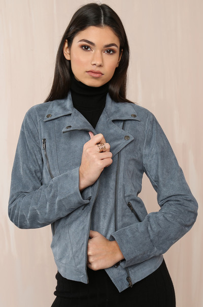 My Moto Jacket - Dusty Blue
