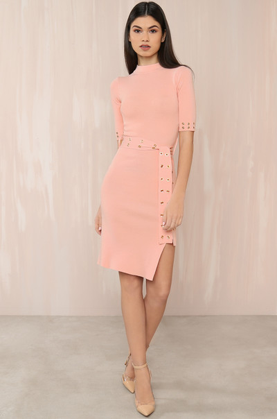 Eye See You Dress - Blush