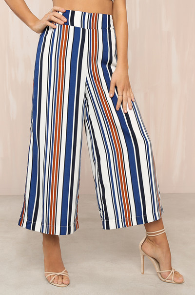 Out Of Line Culottes - Striped