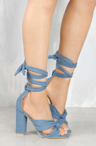 Pretty Knotty - Denim
