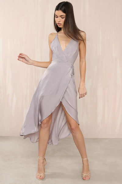 That's A Wrap Dress - Lavender
