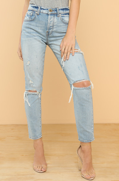 Hold Tight Jeans - Denim
