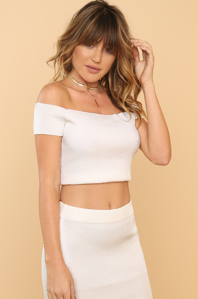 Main Squeeze Top - White