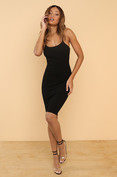 All About Me Dress - Black
