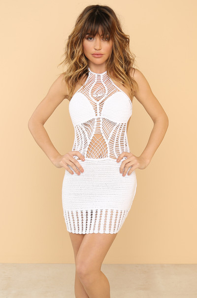 Temptation Island Dress - White