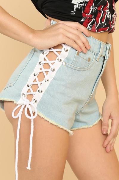 You're Cut Off Shorts - Denim
