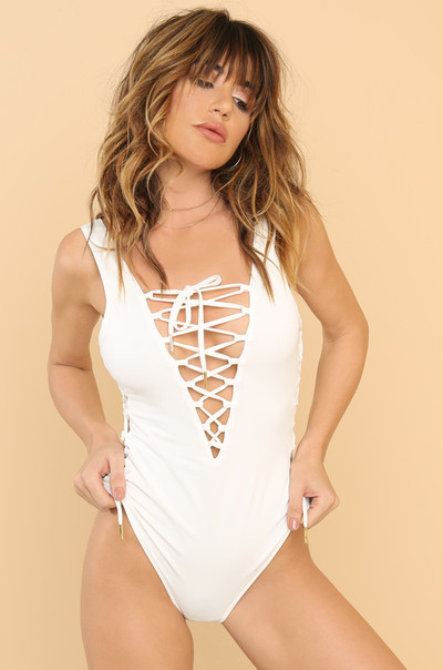 Unravel Swimsuit - White