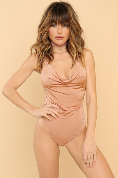 Dream Of Me Bodysuit - Rose