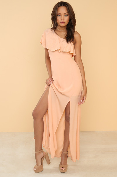My Good Side Dress - Blush