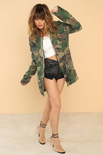 Atten-Haute Jacket - Camouflage