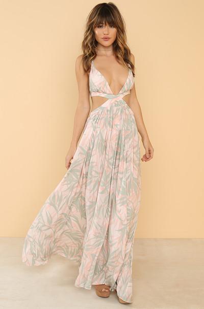 Vacay Vibe Dress - Blush