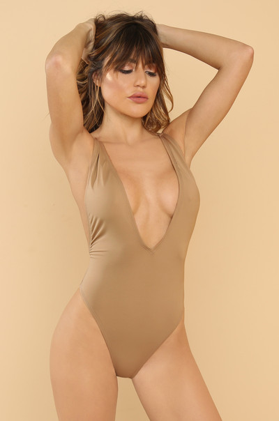 High Tide Swimsuit - Nude