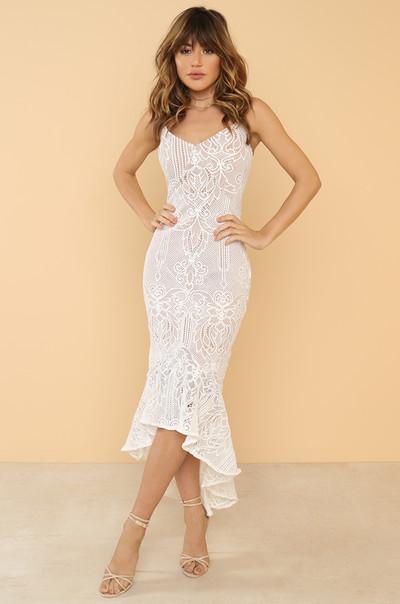 Secret Admirer Dress - White
