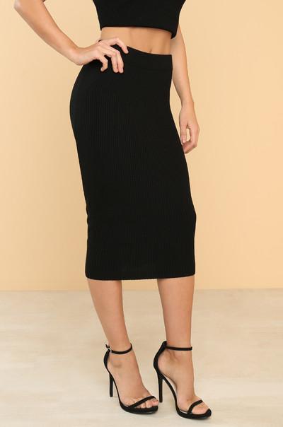Main Squeeze Skirt - Black