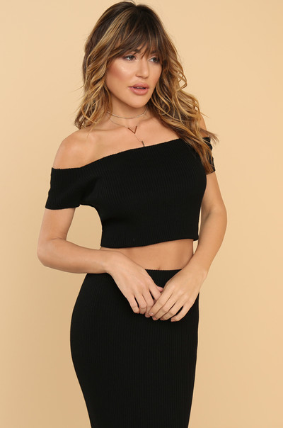 Main Squeeze Top - Black