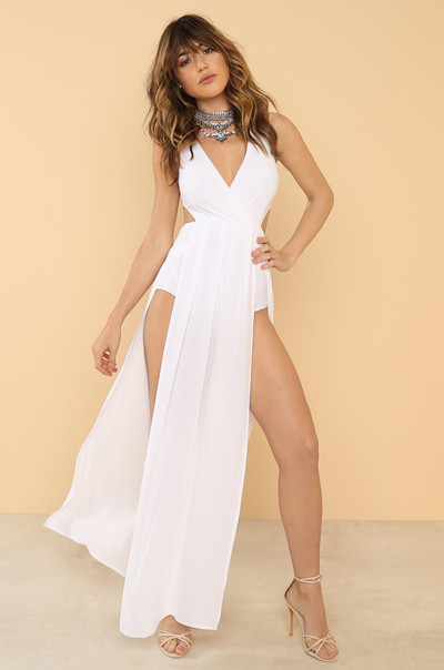 Dream Come True Dress - White