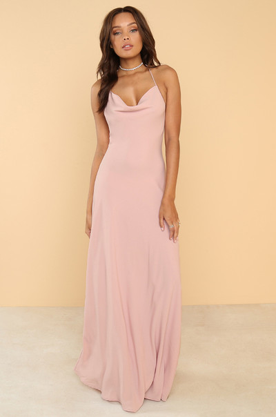 In The Moment Dress - Blush