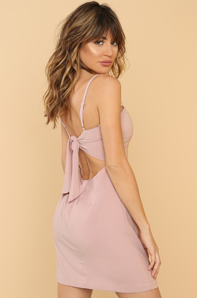 Want You Back Dress - Mauve