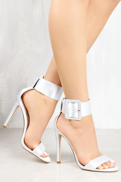 Hot Reveal - Silver Satin