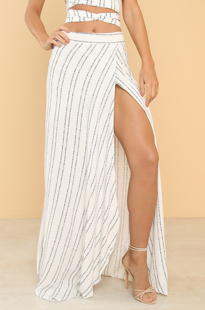 Windswept Skirt - White