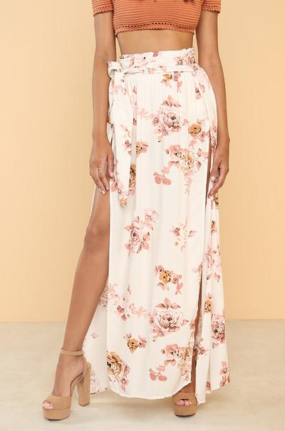 Above 'N' Beyond Skirt - Floral