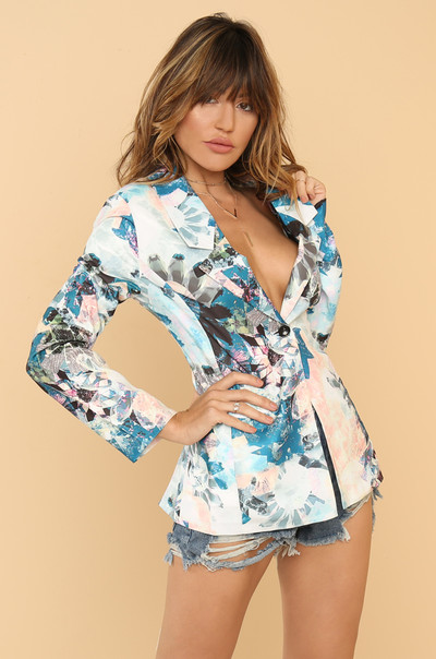 Out Of The Office Blazer - Multi