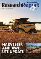 Research Report 73: Harvester and 4WD ute update