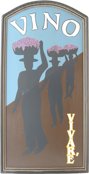 Large Wine Vineyard Sign