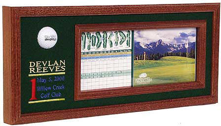 Hole in One Plaque