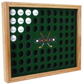 Personalized Golf Ball Display Case