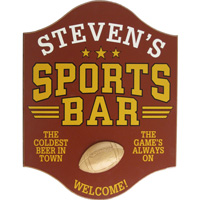 Sports Bar Signs & Plaques