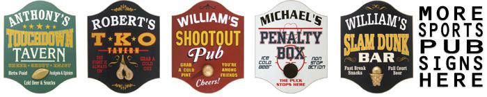 Sports Pub Signs