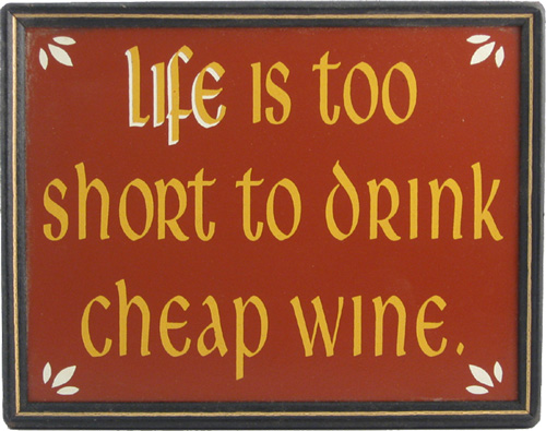 Wine Decor Sign