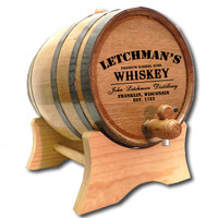 Whiskey Distillery Barrel Personalized