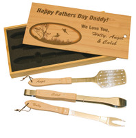 Personalized BBQ Grill Set