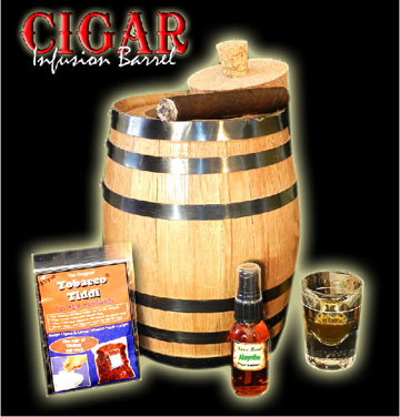 Cigar Infusion Humidor Barrel