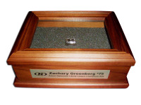 Championship Ring Box with Custom Engraving