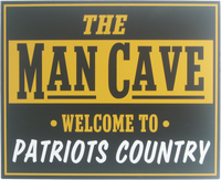 Man Cave Sign for Your Team