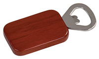 Rosewood Rectangle Bottle Opener