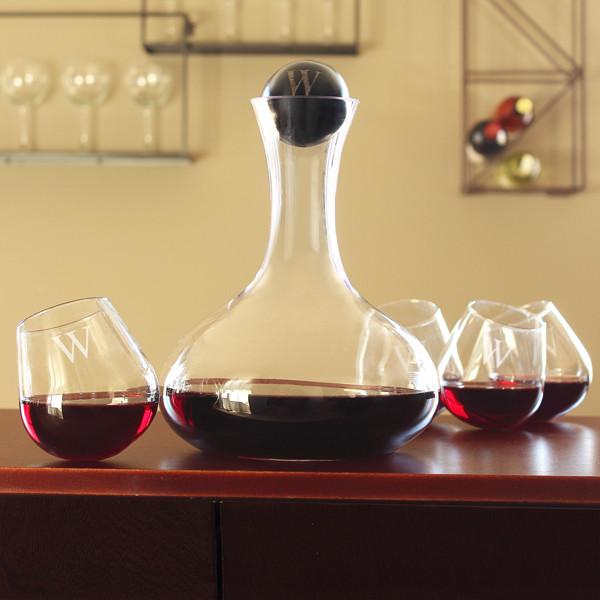 wine decanter tipsy tasters set. Black Bedroom Furniture Sets. Home Design Ideas