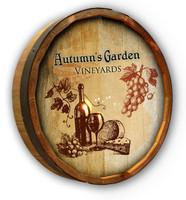 Custom Vineyards Color Quarter Barrel