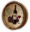 Custom Wine Bottle Color Quarter Barrel