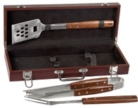 Personalized Rosewood BBQ Gift Set
