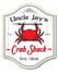 Personalized Crab Shack Beach Bar Sign