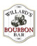 Personalized Bourbon Barrel Home Bar Sign