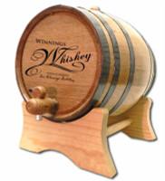 Signature Whiskey Distillery Oak Barrel
