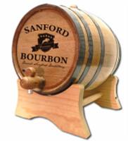 Kentucky Crest Bourbon Oak Barrel