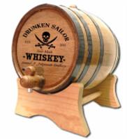 Drunken Pirate Oak Aging Barrel