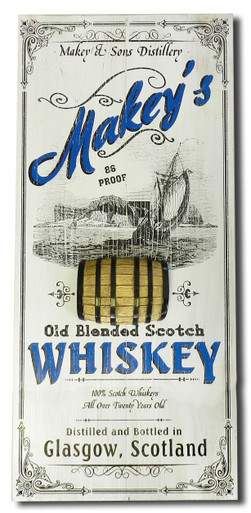 Scotch Whiskey Pub Plaque